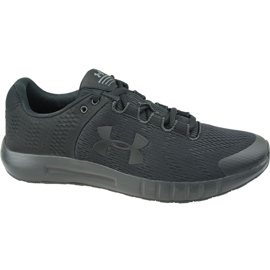 Buty biegowe Under Armour Micro G Pursuit Bp W 3021969-001 czarne