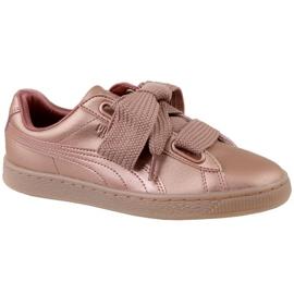 Buty Puma Basket Heart Copper W 365463-01 różowe