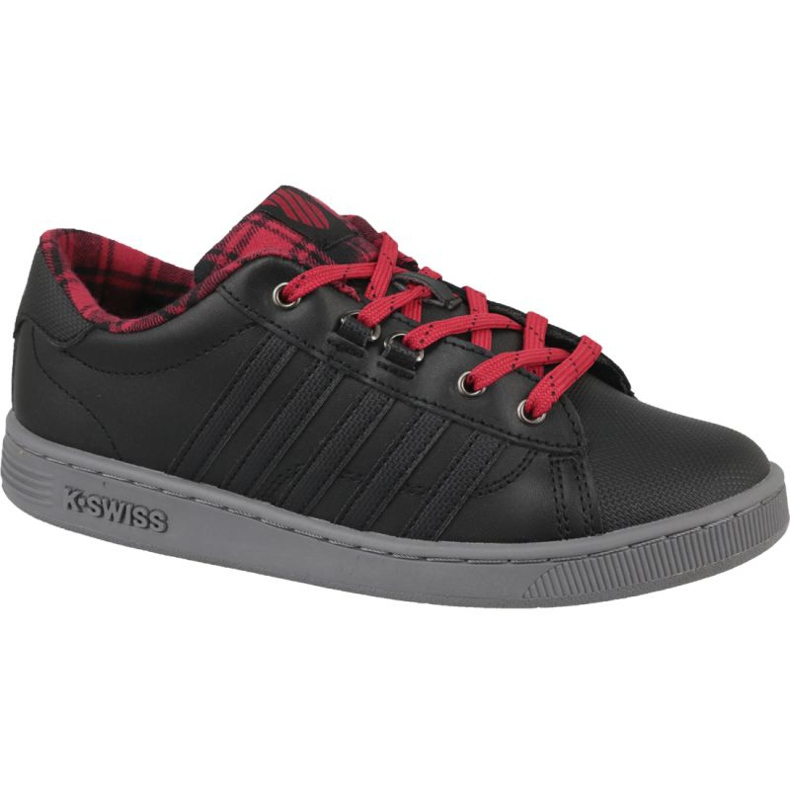 Buty K-Swiss Hoke Plaid Jr 85111-050 czarne
