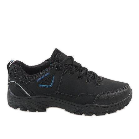Czarne obuwie trekkingowe 128