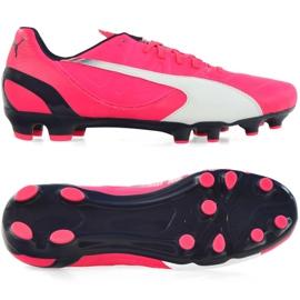 Buty piłkarskie Puma Evo Speed 3.3 Fg M 103014 03 różowy różowe