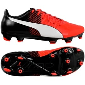 Buty piłkarskie Puma Evo 2.3 Fg M 103853 01 czarny czarne