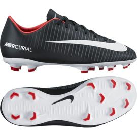 Buty piłkarskie Nike Mercurial Vapor Xi Fg Jr 831945-002 czarny czarne