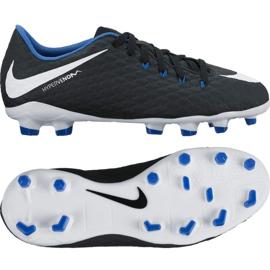 Buty Nike Hypervenom Phelon Iii Fg Jr 852595-002 czarny czarne