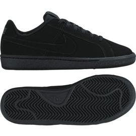 Buty Nike Court Royale Gs Jr 833535-001 czarne