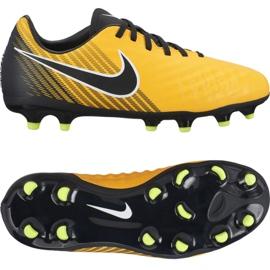 Buty piłkarskie Nike Magista Onda Ii Fg Jr 917779-801 złoty złoty