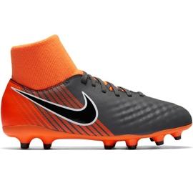 Buty piłkarskie Nike Magista Obra 2 Academy Df Fg Jr AH7313-080 czarny czarne
