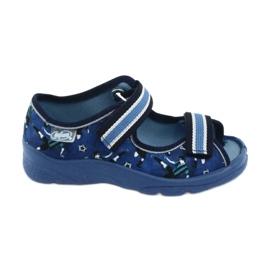 Befado obuwie dziecięce  969X141 granatowe niebieskie