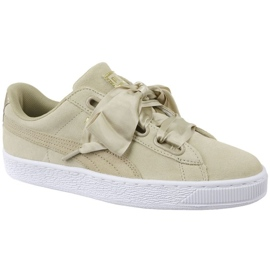 Buty Puma Basket Heart Metallic Safari W 364083-01 brązowe