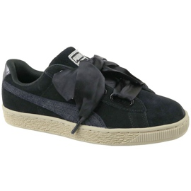 Buty Puma Basket Heart Metallic Safari W 364083-03 czarne