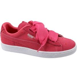 Buty Puma Suede Heart Jr 365135-01 czerwone