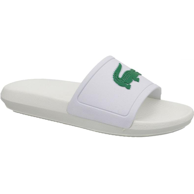 Klapki Lacoste Croco Slide 119 3 W 737CFA0005082 białe