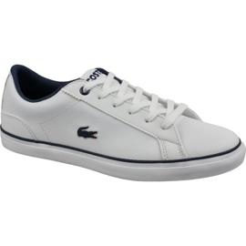Buty Lacoste Lerond Bl 2 Jr 737CUJ0027042 białe