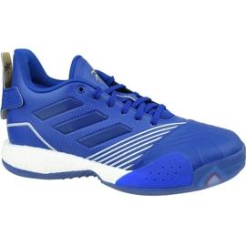 Buty koszykarskie adidas T-Mac Millennium M G27748 niebieskie wielokolorowe