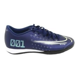 Buty halowe Nike Mercurial Vapor 13 Academy Mds Ic M CJ1300 401 granatowe