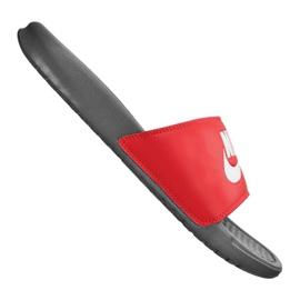 Klapki Nike Benassi Jdi Slide M 343880-028 czerwone