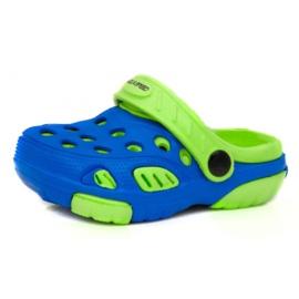 Klapki Aqua-Speed Lido Jr 40859-40863,42244 niebieskie zielone