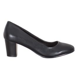 Sergio Leone Klasyczne Buty Na Obcasie czarne