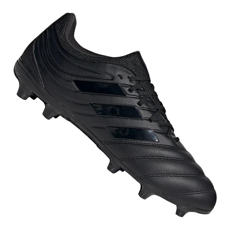 Buty piłkarskie adidas Copa 20.3 Fg M G28550 czarne niebieskie