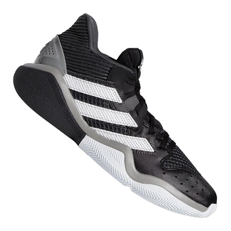 Buty koszykarskie adidas Harden Stepback M EF9893 czarne niebieskie