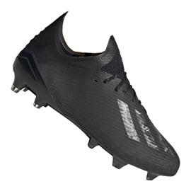 Buty piłkarskie adidas X 19.1 Fg M EG7127 czarne