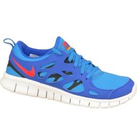 Buty Nike Free 2 Gs W 443742-404 niebieskie