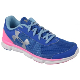 Buty Under Armour Micro G Speed Swift K W 1266305-400 niebieskie
