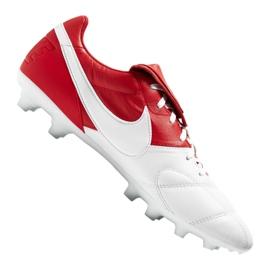 Buty Nike The Premier Ii Fg M 917803-611 czerwone biały, czerwony