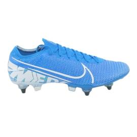 Buty piłkarskie Nike Mercurial Vapor 13 Elite SG-Pro Ac M AT7899 414 niebieskie