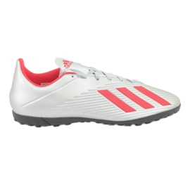 Buty piłkarskie adidas X 19.4 Tf M F35344 srebrny