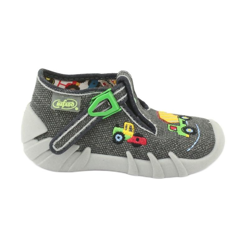 Befado obuwie dziecięce 110P357 szare
