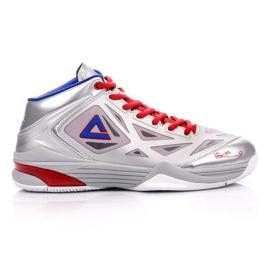 Buty do koszykówki Peak TP9 Quickness 2 E33323A M 62266-62270 srebrny szare