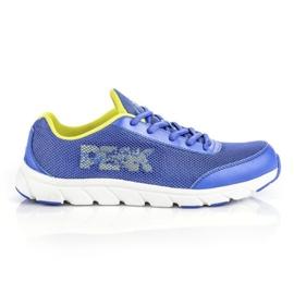 Buty biegowe Peak E43823H M 61322-61324 niebieskie
