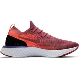 Buty biegowe Nike Epic React Flyknit W AQ0070 601 czerwone