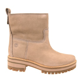 Buty Timberland Courmayeur Valley Warm Lined Boot W A257H brązowe
