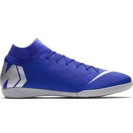 Buty halowe Nike Mercurial Superfly 6 Academy Ic M AH7369-400 niebieskie niebieski