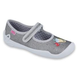 Befado obuwie dziecięce 114Y384 szare