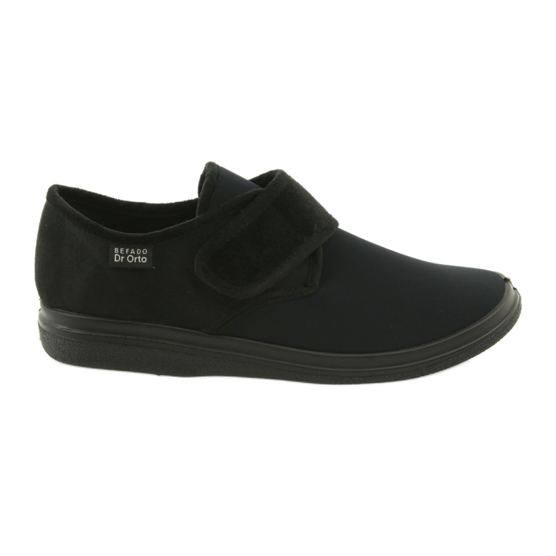 Befado obuwie męskie pu 036M006 czarne