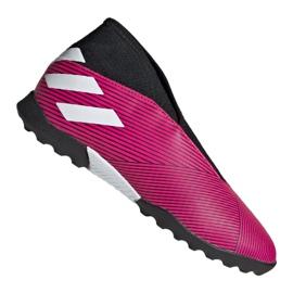 Buty adidas Nemeziz 19.3 Ll Tf Jr EF8849 różowe