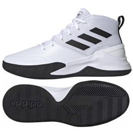 Buty koszykarskie adidas Ownthegame M EE9631 białe