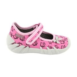 Befado obuwie dziecięce 109P200 różowe