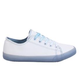 Trampki damskie ombre biało-niebieskie E3508 Blue