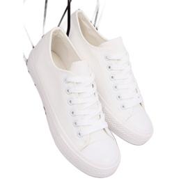 Trampki damskie białe PQ-22 White