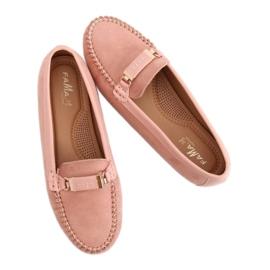 Mokasyny damskie różowe FM3024 Pink