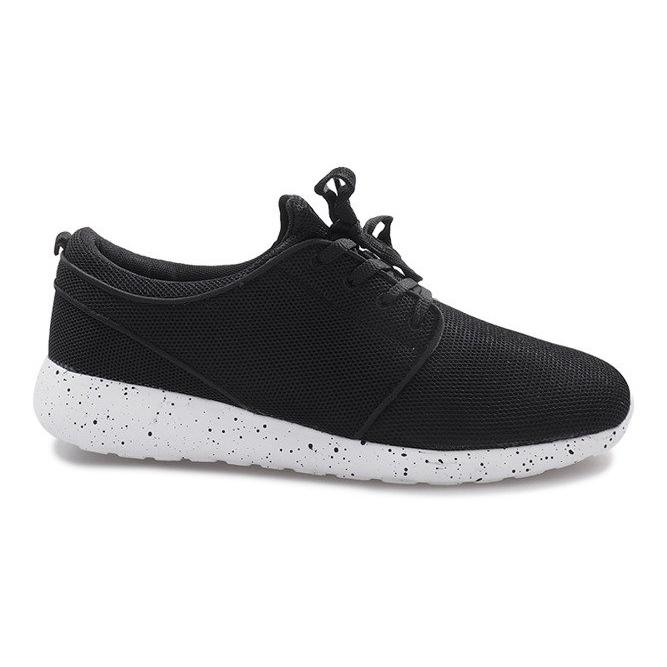 Czarne obuwie sportowe Roshe