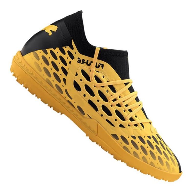 Buty Puma Future 5.3 Netfit Tt M 105798-03 czarny, żółty żółte