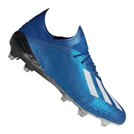 Buty adidas X 19.1 Fg M EG7126 niebieskie niebieskie