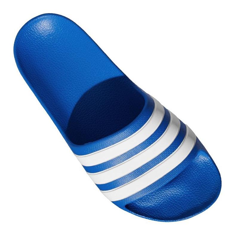 Klapki adidas Adilette Aqua K Jr EF1752 niebieskie