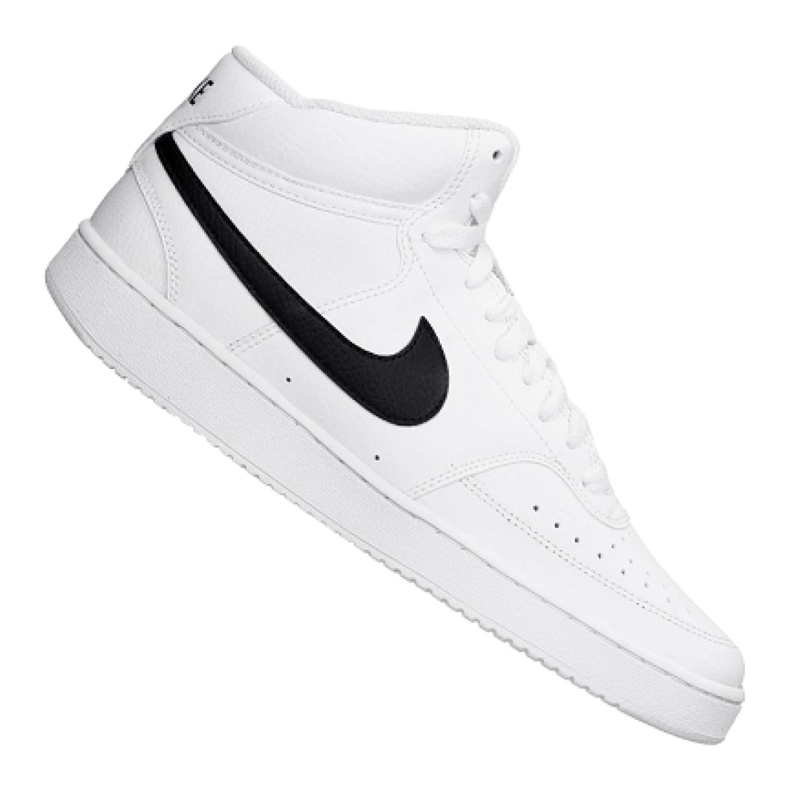 Buty Nike Court Vision Mid M CD5466-101 białe