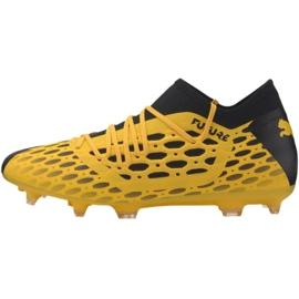 Buty piłkarskie Puma Future 5.3 Netfit Fg Ag M 105756 03 żółte żółte